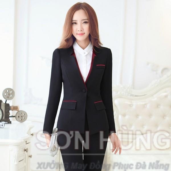 Đồng phục vest nữ 1