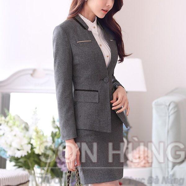 Đồng phục vest nữ 10