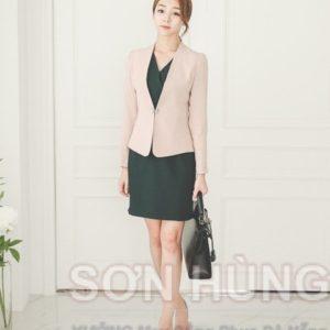 Đồng phục vest nữ 4