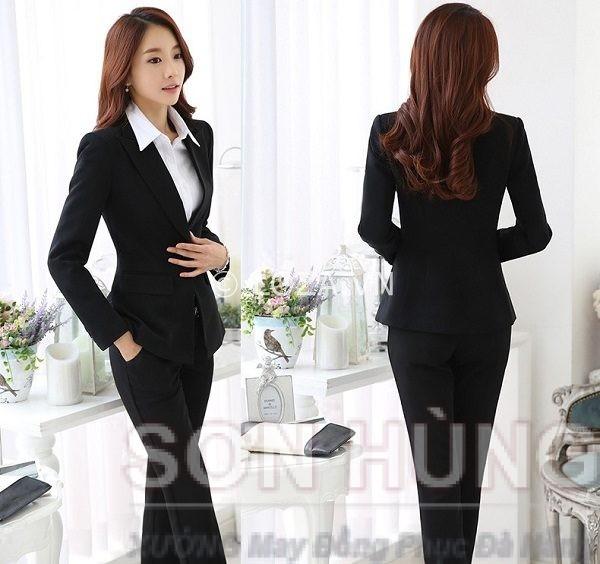 Đồng phục vest nữ 5