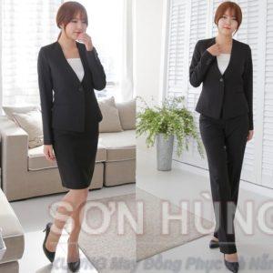 Đồng phục vest nữ 8